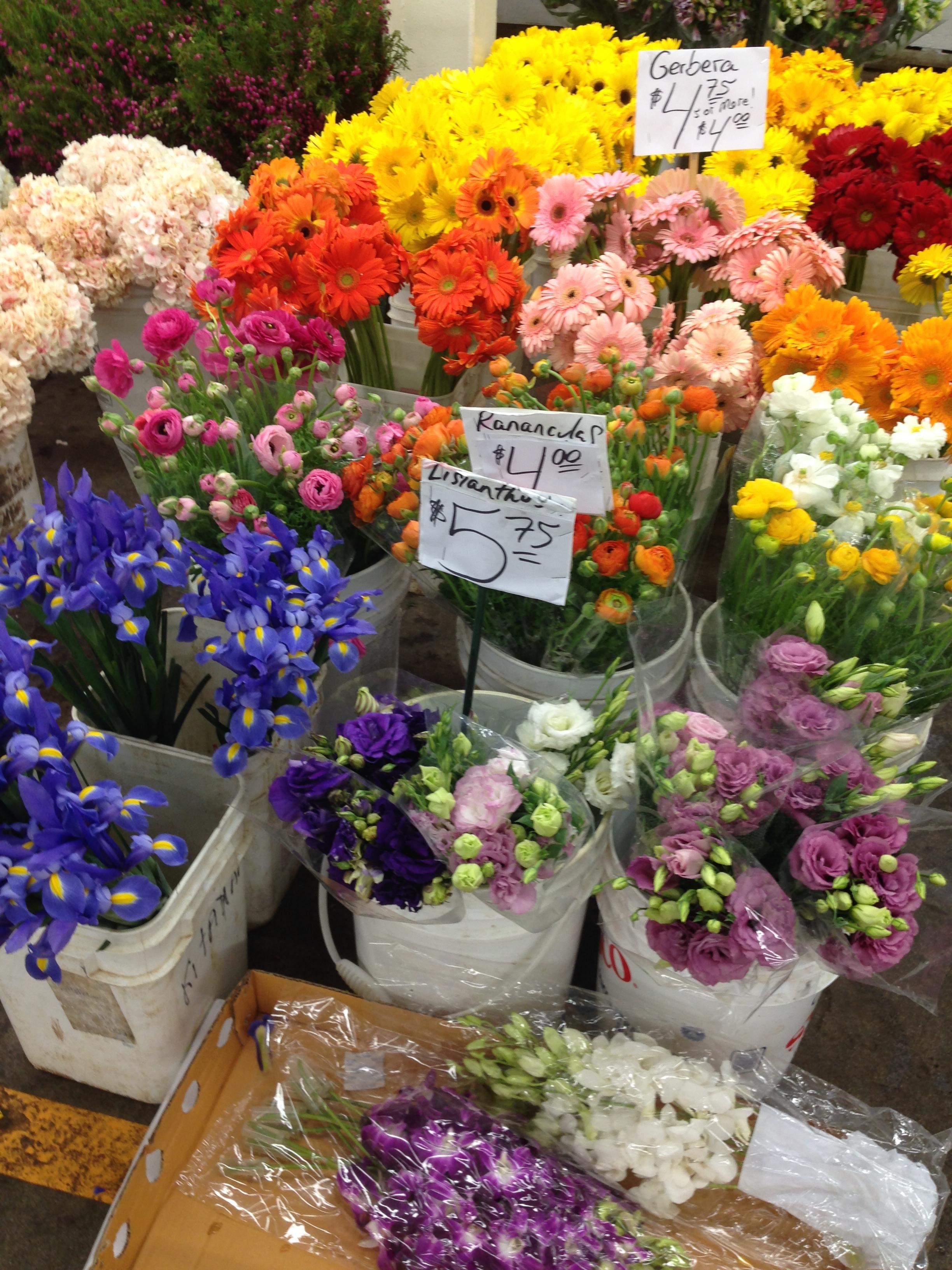 The Original Los Angeles Flower Market Jillsuzannedesign